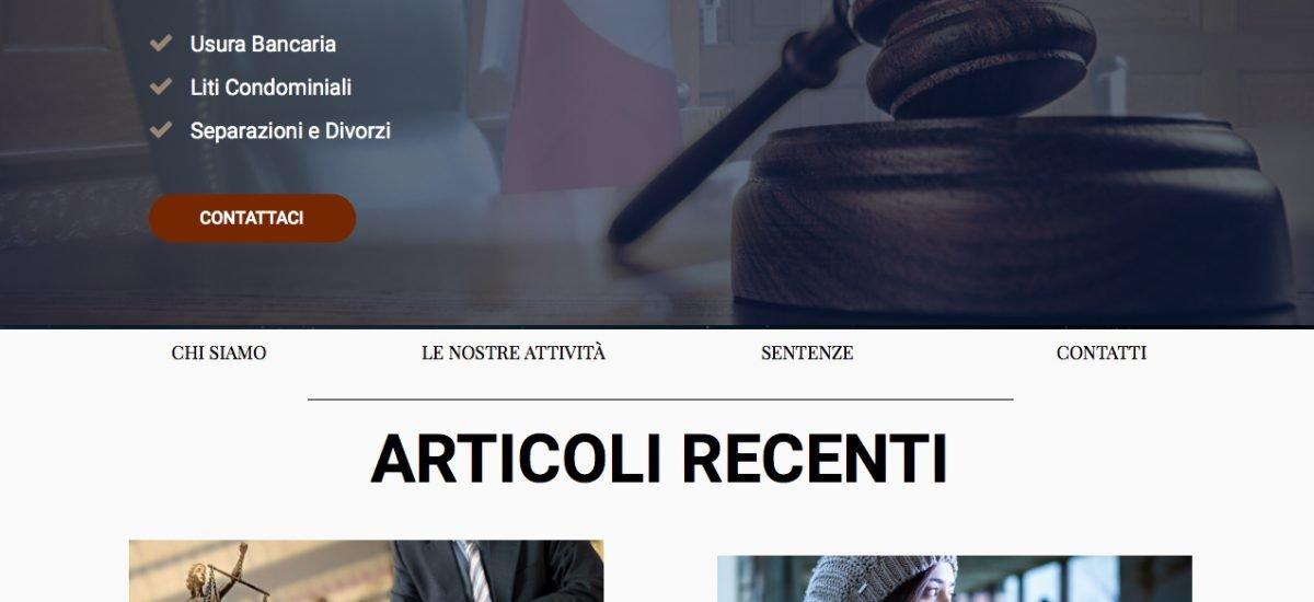 sito per avvocati roma