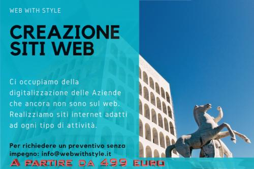 Creazione siti web roma eur -webwithstyle